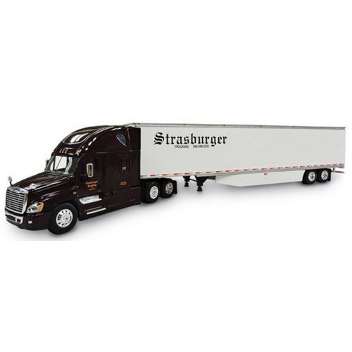 DCP Freightliner Cascadia with Dry Goods Trailer - Strasburger Trucking