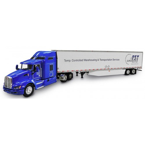 DCP Kenworth T660 with Refrigerated Trailer - FST Logistics