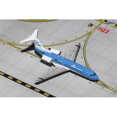 Gemini Jets Fokker 70 KLM Cityhopper