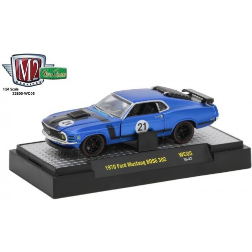 M2 Machines Wild Cards Release 5 - 1970 Ford Mustang BOSS 302