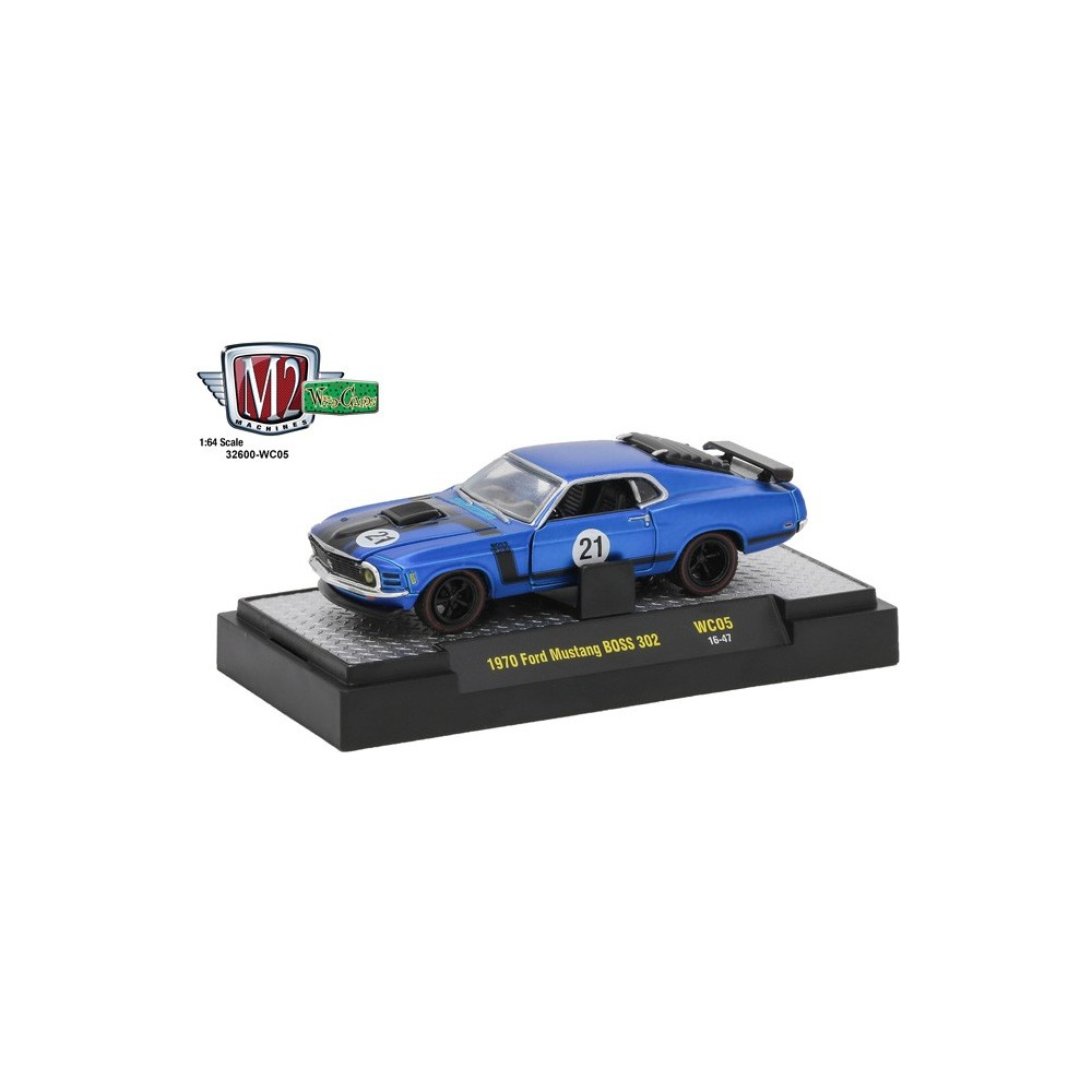 Wild Cards Release 5 1970 Ford Mustang BOSS 302