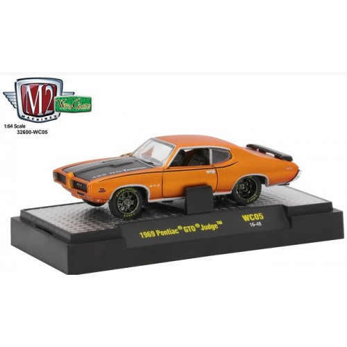 M2 Machines Wild Cards Release 5 - 1969 Pontiac GTO Judge