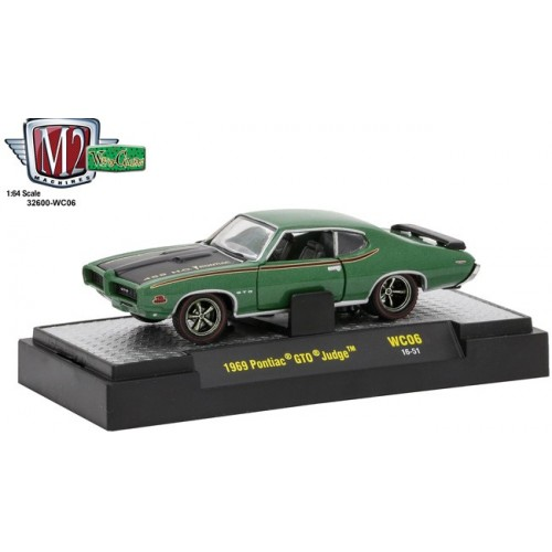 M2 Machines Wild Cards Release 6 - 1969 Pontiac GTO Judge