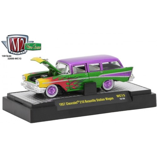 M2 Machines Wild Cards Release 13 - 1957 Chevrolet 210 Station Wagon