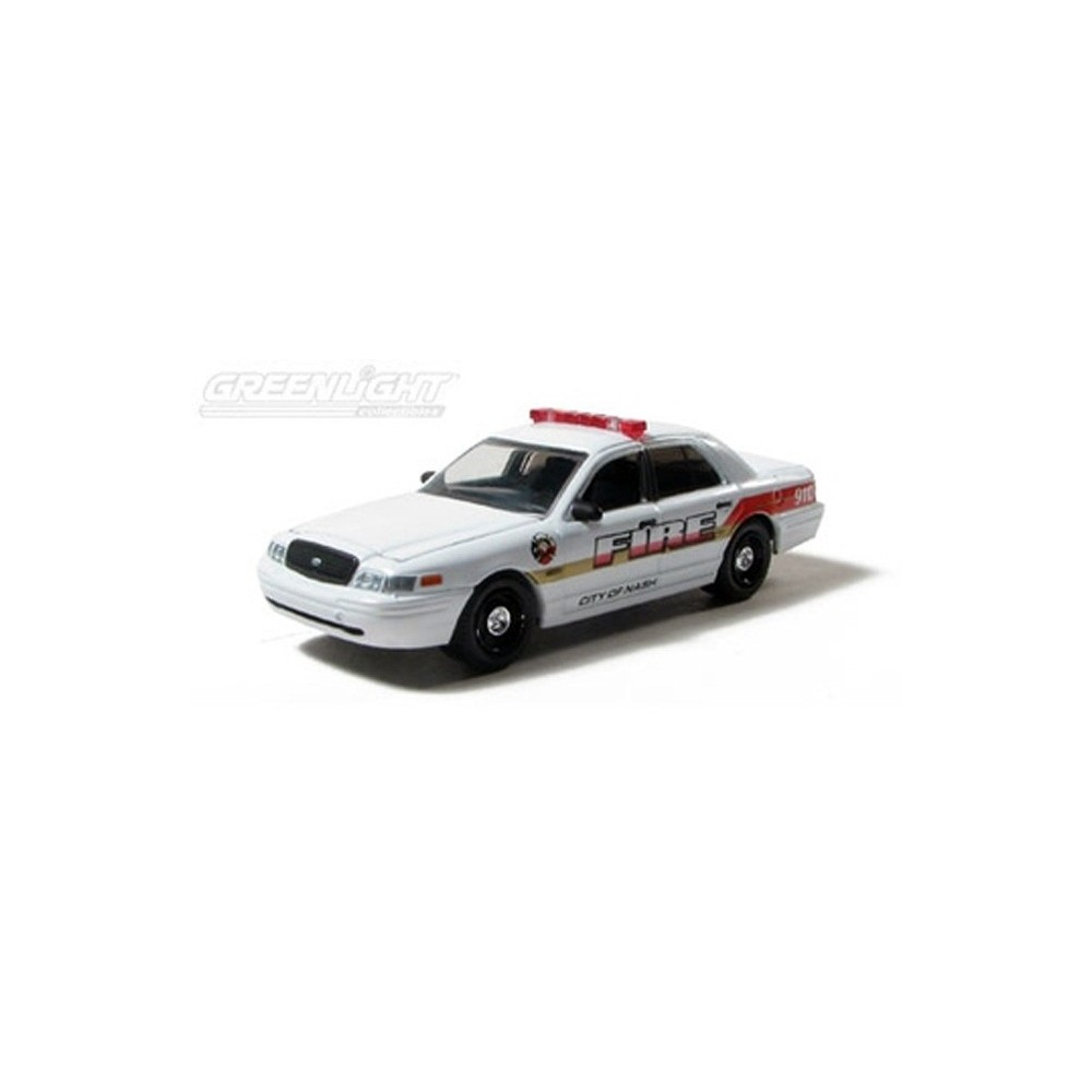 Greenlight Country Roads Series Ford Crown Victoria Nash Fire - 2006 crown victoria