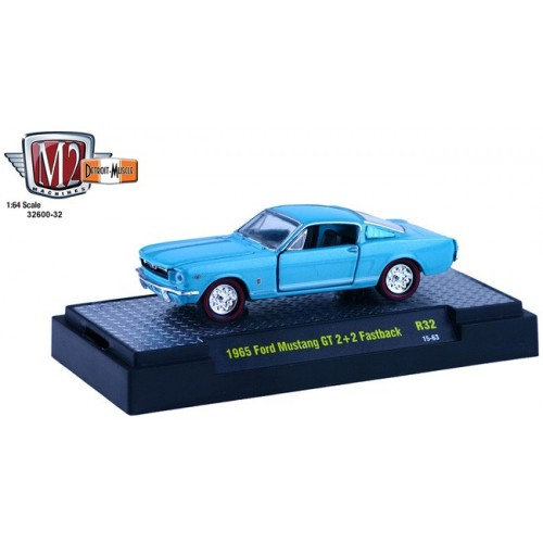 Detroit Muscle Release 32 - 1965 Ford Mustang GT 2+2