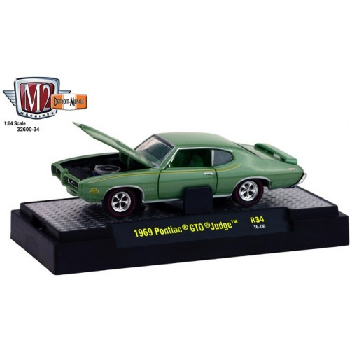 Detroit Muscle Release 34 - 1969 Pontiac GTO Judge
