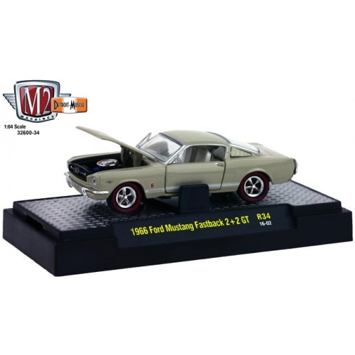 Detroit Muscle Release 34 - 1966 Ford Mustang Fastback