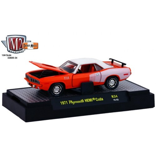 Detroit Muscle Release 34 - 1971 Plymouth HEMI Cuda