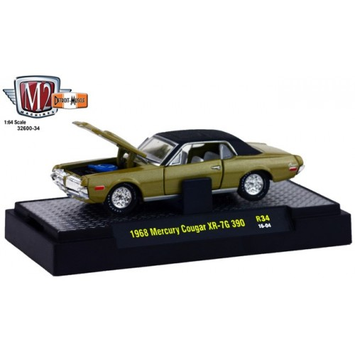 Detroit Muscle Release 34 - 1968 Mercury Cougar XR-7G 390