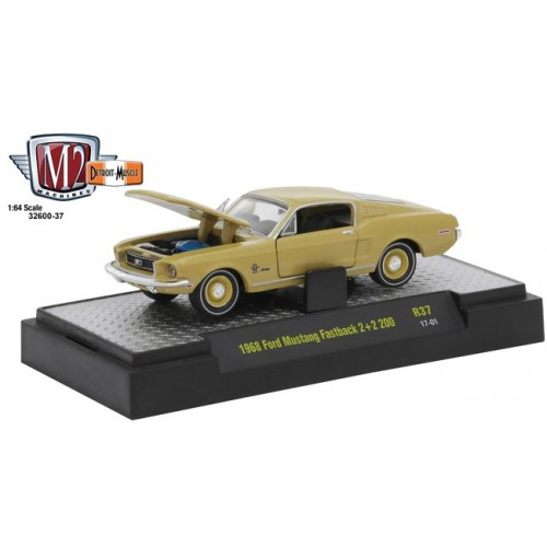 Detroit Muscle Release 37 - 1968 Ford Mustang Fastback