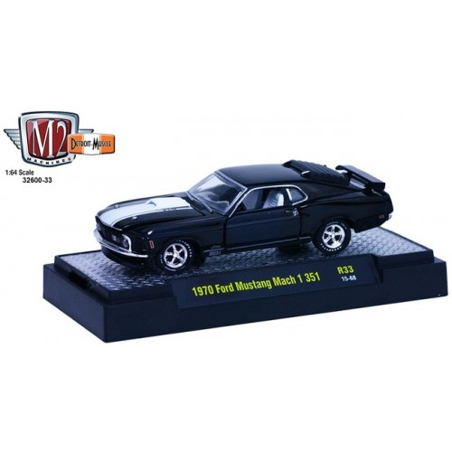 Detroit Muscle Release 33 - 1970 Ford Mustang Mach I 351