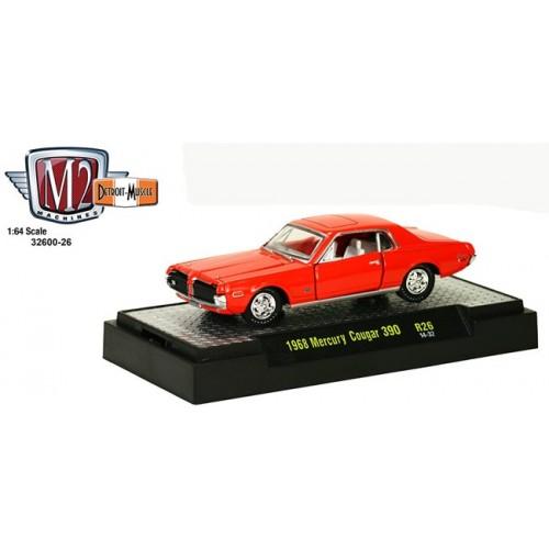 Detroit Muscle Release 26 - 1968 Mercury Cougar 390