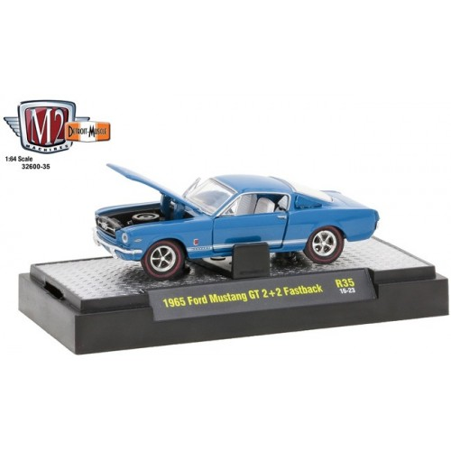 Detroit Muscle Release 35 - 1965 Ford Mustang GT 2+2