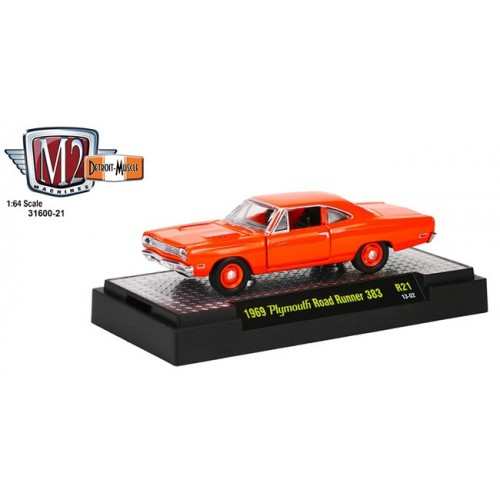 Detroit Muscle Release 21 - 1969 Plymouth Road Runner 383