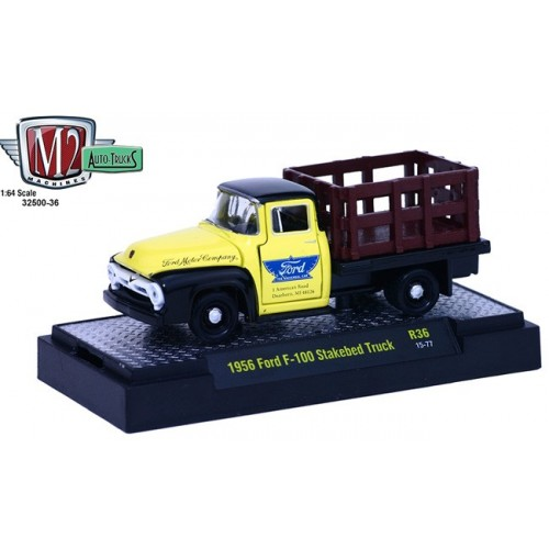 Auto-Trucks Release 36 - 1956 Ford F-100 Stakebed Truck
