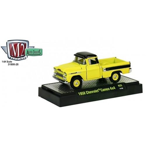 Auto-Trucks Release 25 - 1958 Chevrolet Cameo 4X4