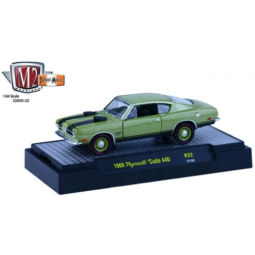Detroit Muscle Release 32 - 1969 Plymouth Cuda 440