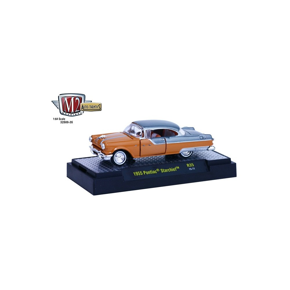 M2 Machines Auto Thentics Release 35 1955 Pontiac Starchief 1950 Star Chief