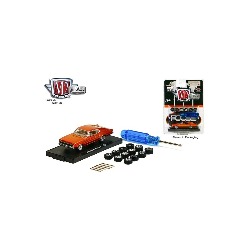 Auto-Wheels Release 2 - 1966 Dodge Charger