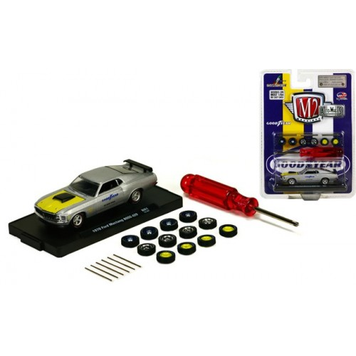 Auto-Wheels Release 1 - 1970 Ford Mustang BOSS 429