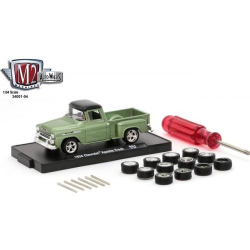 Auto-Wheels Release 4 - 1958 Chevrolet Apache Truck