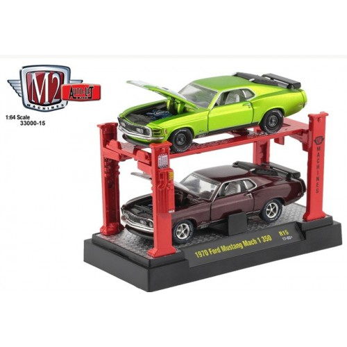 Auto-Lifts Release 15 - 1970 Ford Mustang Mach I 350 Set
