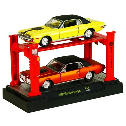 Auto-Lifts Release 13 - 1968 Mercury Cougar Set