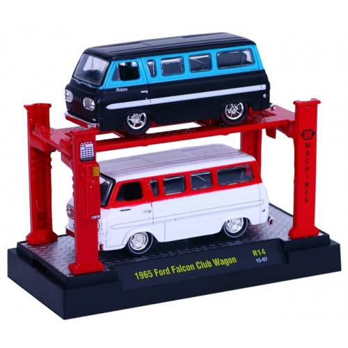 Auto-Lifts Release 14 - 1965 Ford Falcon Club Wagon Set