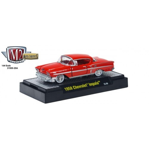 Auto-Thentics Release 20A - 1958 Chevrolet Impala Clamshell Package