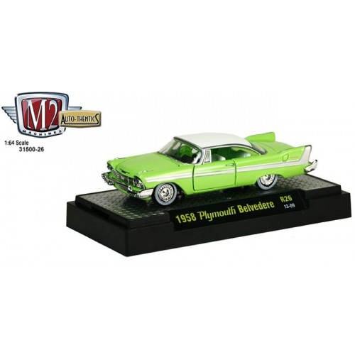 Auto-Thentics Release 26 - 1958 Plymouth Belvedere
