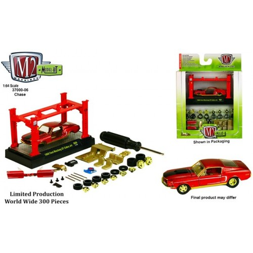 Models Kits Release 6 - 1968 Ford Mustang GT Cobra Jet CHASE