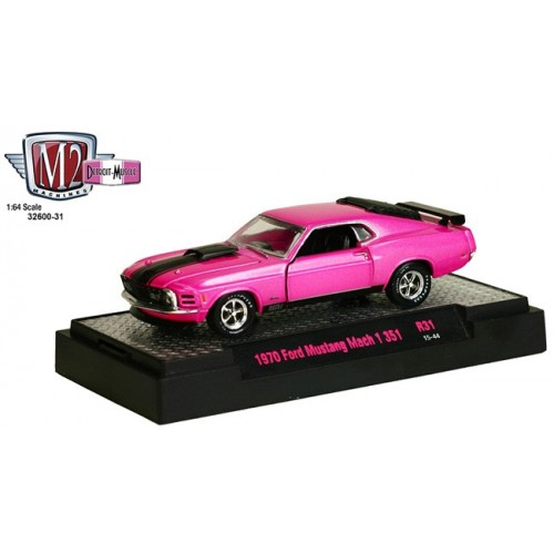 Detroit Muscle Release 31 - 1970 Ford Mustang Mach 1 351