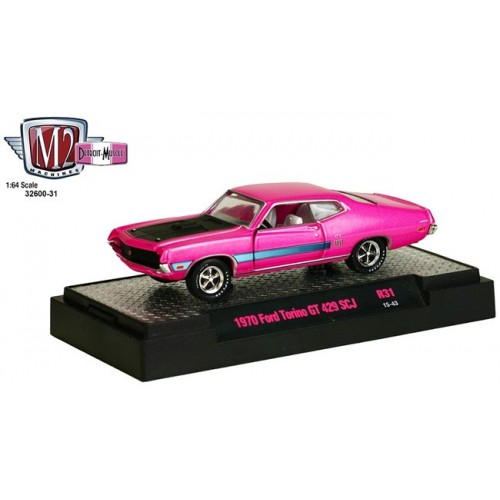 Detroit Muscle Release 31 - 1970 Ford Torino GT 429 SCJ