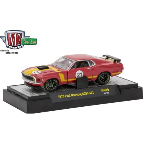 M2 Machines Wild Cards Release 6 - 1970 Ford Mustang BOSS 302