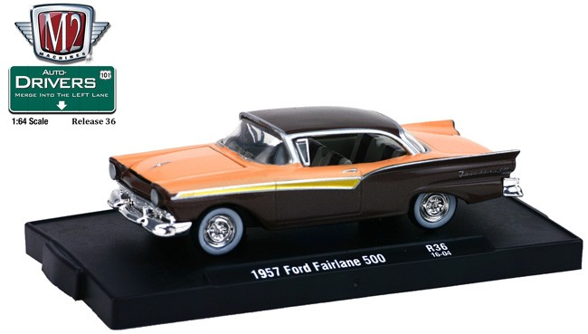 1957 Ford Fairlane 500   Hardtop Coupe *** M2 Machines 1:64 OVP