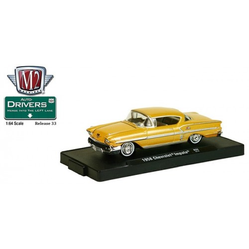 M2 Machines Drivers Release 33 - 1958 Chevrolet Impala