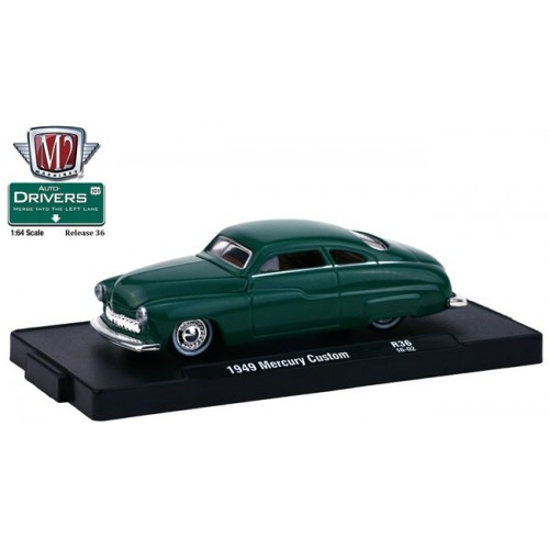 M2 Machines Drivers Release 36 - 1949 Mercury Custom