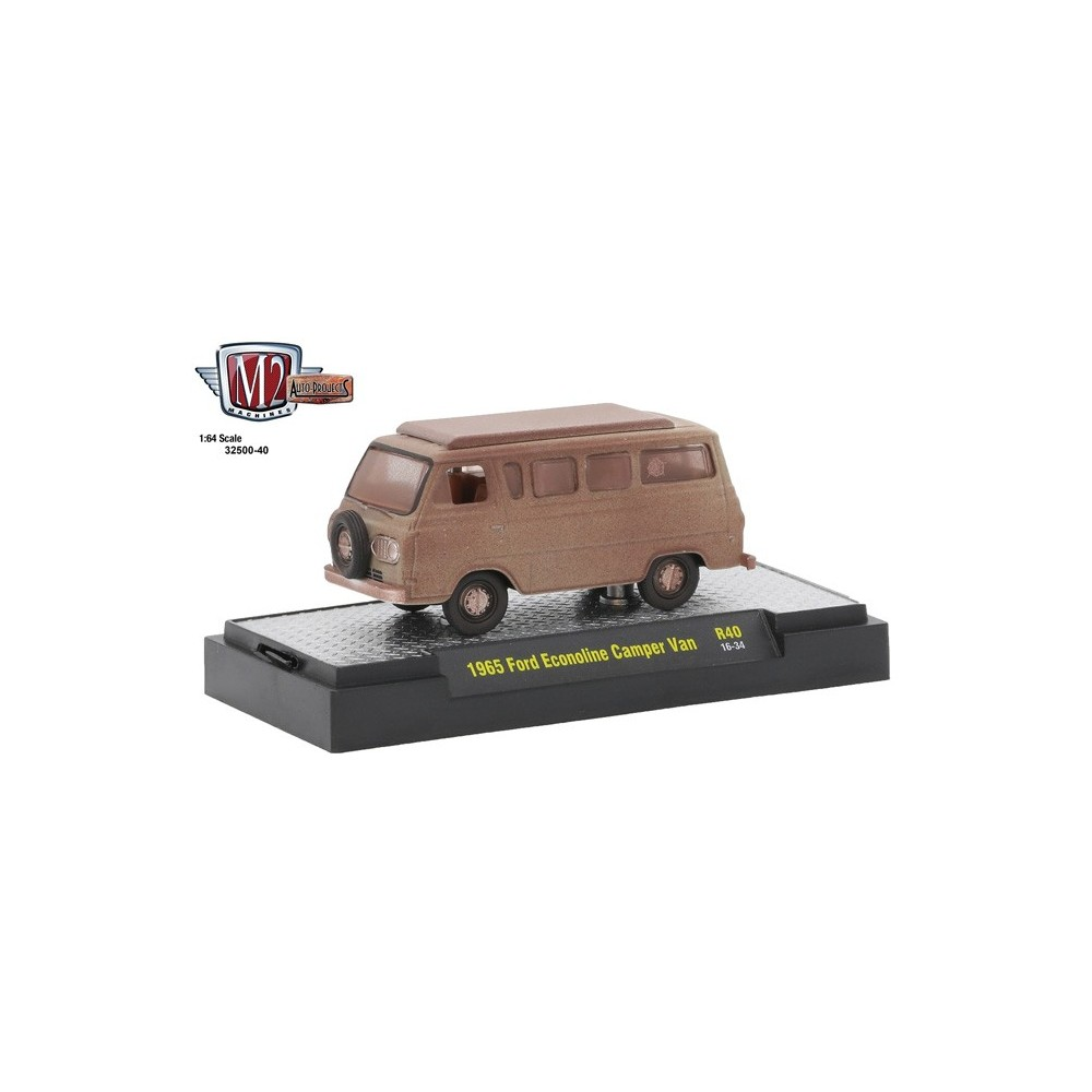 Auto-Projects Release 40 - 1965 Ford Econoline Camper Van