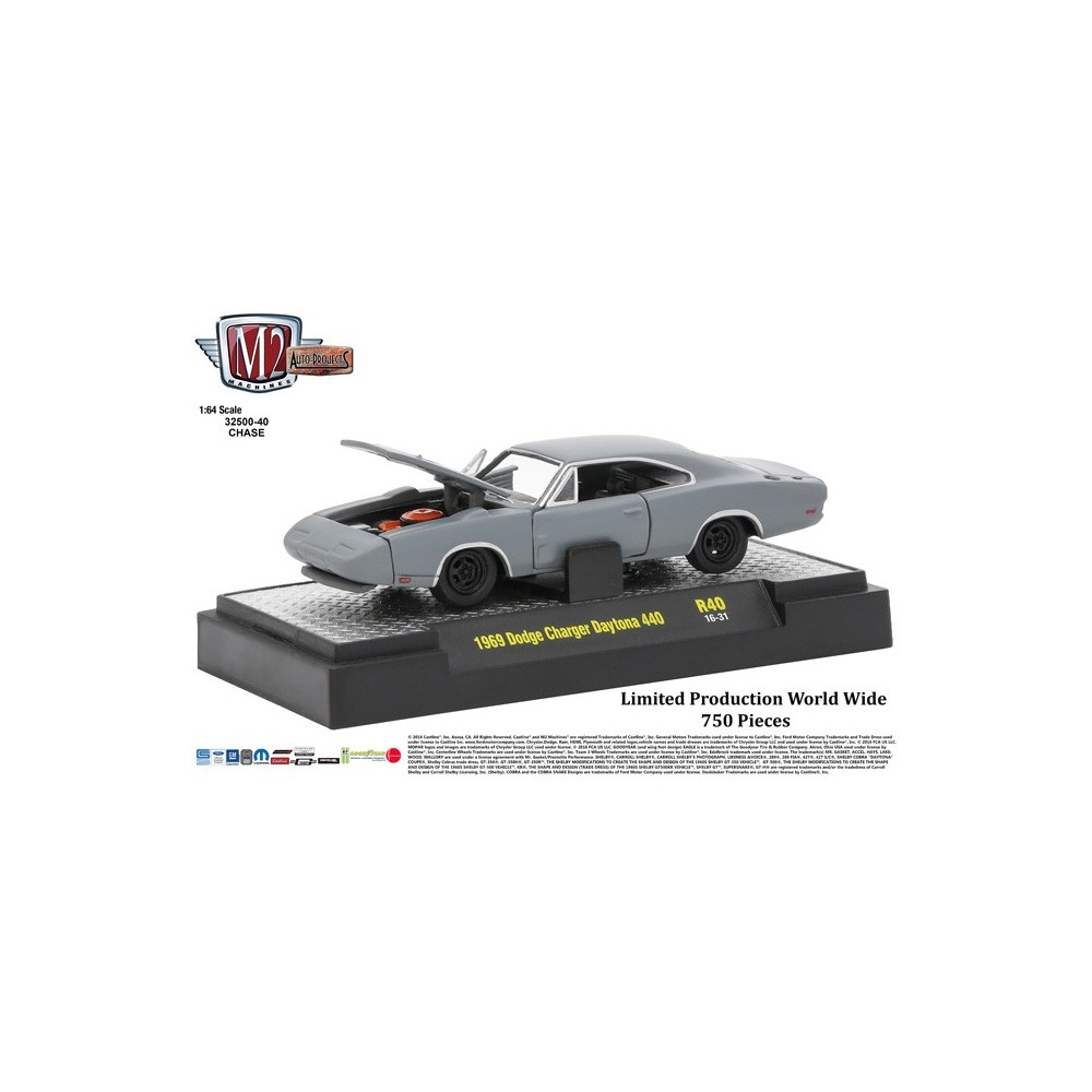 Auto-Projects Release 40 - 1969 Dodge Charger Daytona 440 CHASE