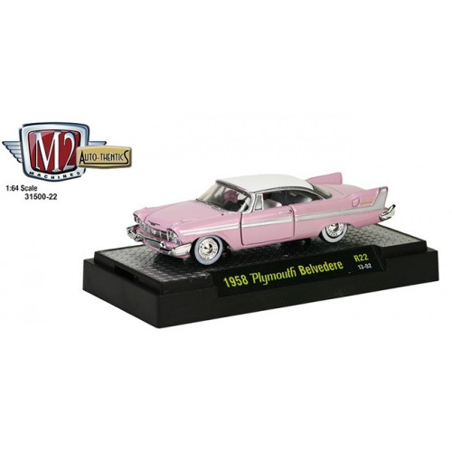 M2 Machines Auto-Thentics Release 22 - 1958 Plymouth Belvedere