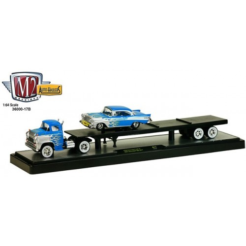 Auto-Haulers Release 17B  - 1958 Chevy LCF and 1957 Chevy Bel Air