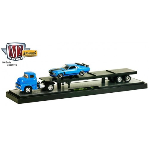 Auto-Haulers Release 16 - 1956 Ford COE and 1970 Ford Mustang