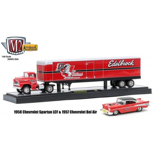 Auto-Haulers Release 20A - 1958 Chevy Spartan LCF and 1957 Chevy Bel Air
