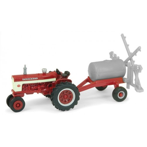 Case IH - Farmall 460 Tractor with Pull Sprayer