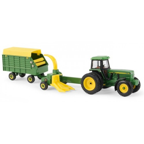 John Deere 4960 Tractor with Forage Harvester and Wagon