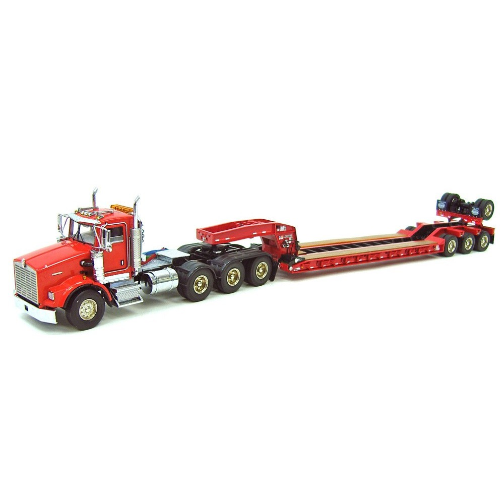 Kenworth T800W with 4-Axle Rogers Lowboy