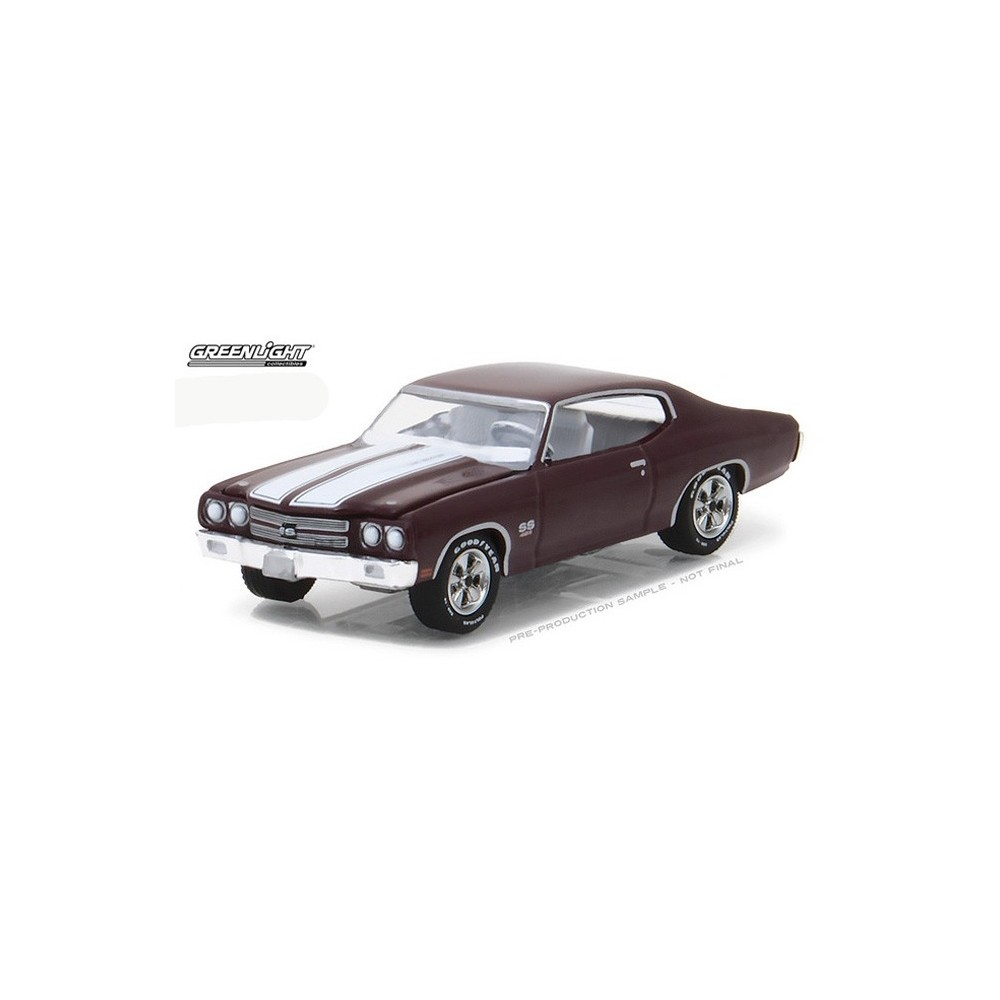 All Chevy 1970 chevrolet chevelle ss 454 : Greenlight GL Muscle Release 19 - 1970 Chevrolet Chevelle SS 454