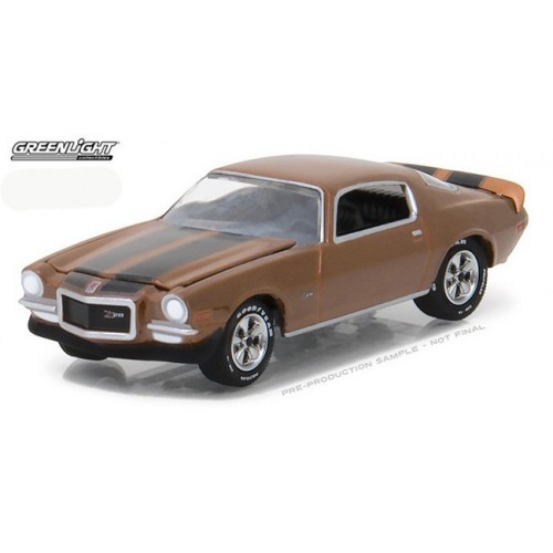 GL Muscle Series 19 - 1972 Chevrolet Camaro Z/28