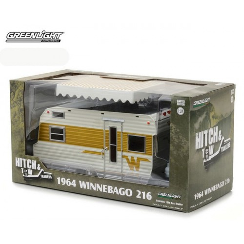 Hitch & Tow Trailers Series 2 - 1964 Winnebago Travel Trailer